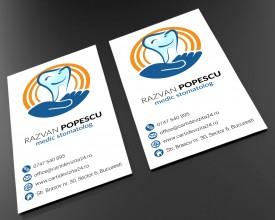 Model carti de vizita Dentist 06