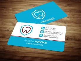 Model carti de vizita Dentist 09