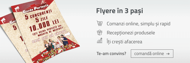 Comanda flyere online