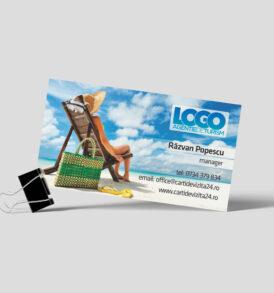 carti de vizita model turism