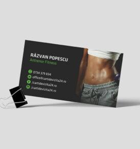 carte vizita fitness