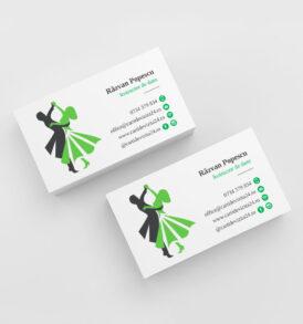 carti de vizita antrenor dans