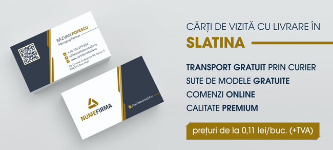 carti de vizita slatina