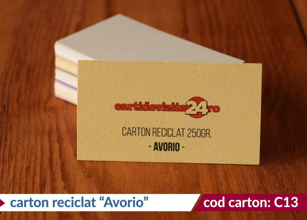 carton reciclat avorio 250g