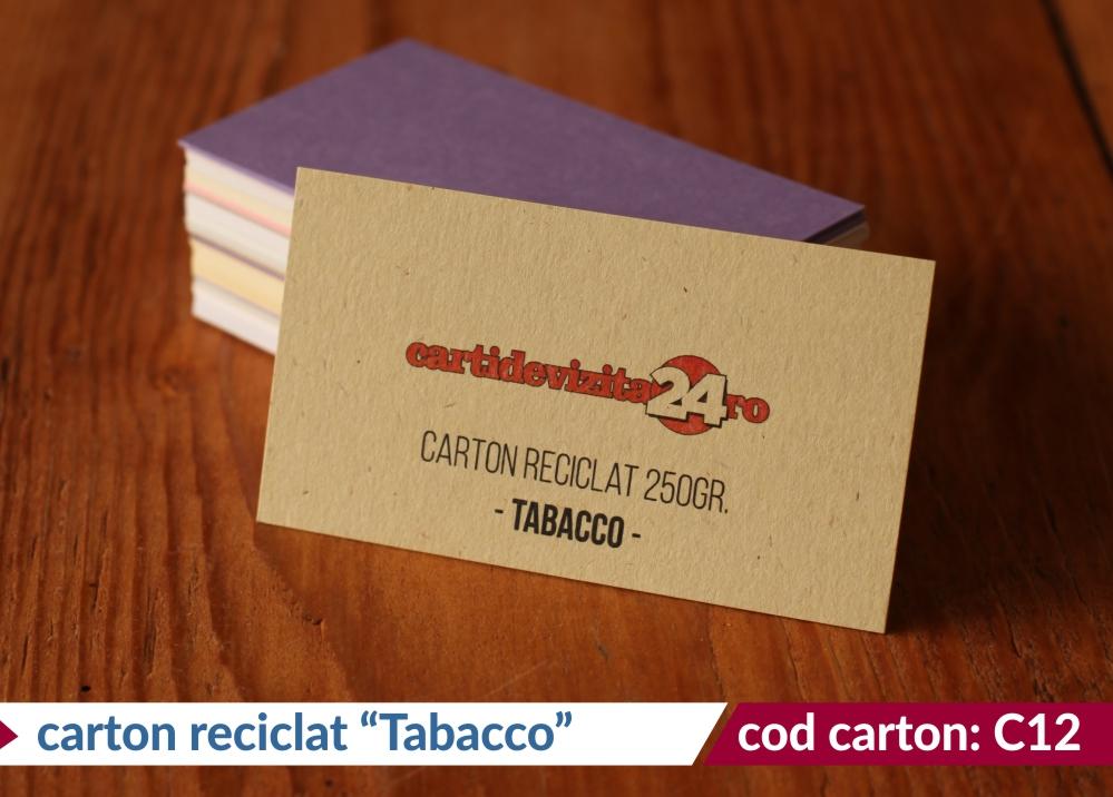 carton reciclat tabacco 250g
