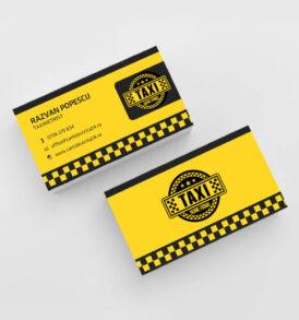 model carti de vizita taximetrist