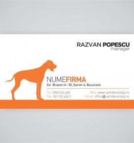 carti vizita veterinar