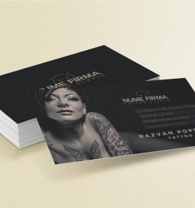 carti de vizita tattoo