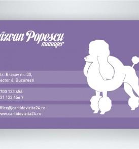 carti de vizita veterinar