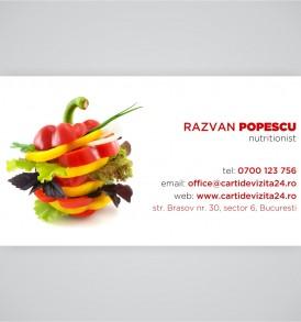 carti vizita nutritionisti