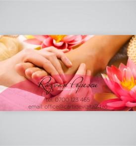 carte vizita masaj