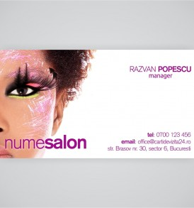 carti vizita make-up artist