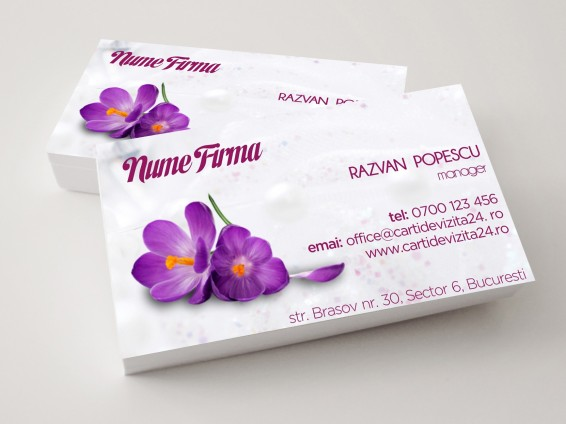 carti vizita florarie