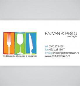 carti de vizita restaurant