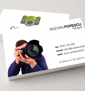carti vizita fotograf