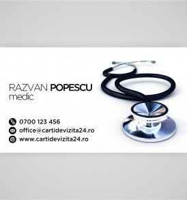 carti de vizita medic
