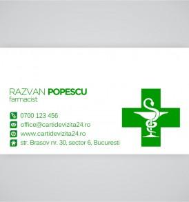 carti vizita farmacisti