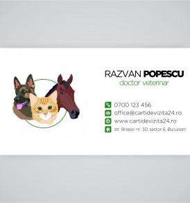 carti vizita veterinari