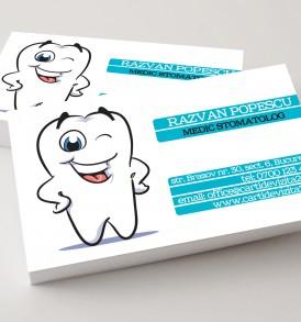 carti de vizita stomatolog
