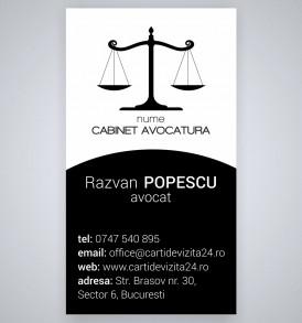 carti vizita avocat