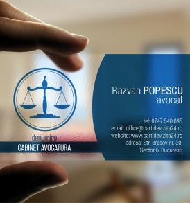carti de vizita transparente avocat