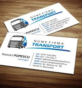 carti vizita transport