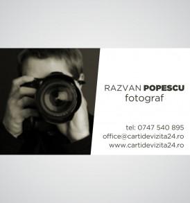 carte de vizita fotograf