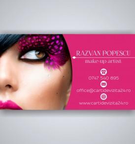 carti de vizita make-up artist