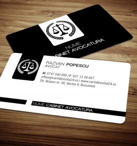 model carti de vizita avocat
