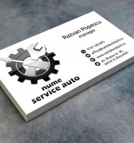 carti vizita service auto