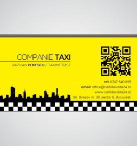 carti de vizita taxi