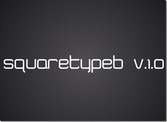 font squaretype