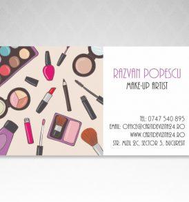carti vizita make-up