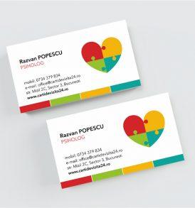 carti de vizita psiholog
