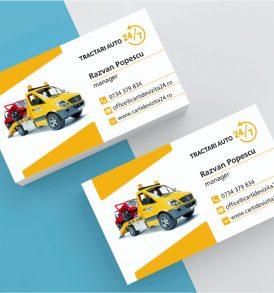 Carti de vizita tractari auto