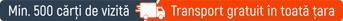 transport gratuit carti vizita