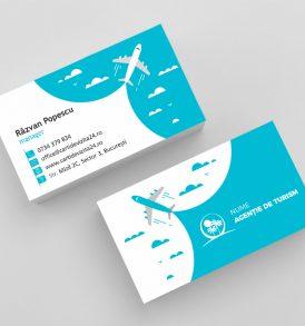 carti de vizita agentie turism