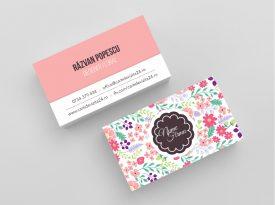carti de vizita florarie