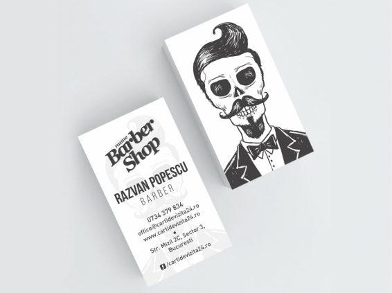 carti de vizita barber shop