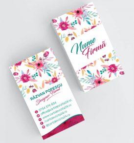 Modele carti de vizita florarie