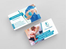 Modele carti de vizita kinetoterapie