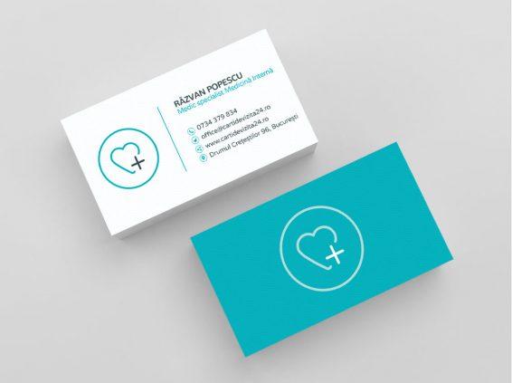 Modele carti de vizita medic