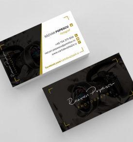 modele carti de vizita fotografi