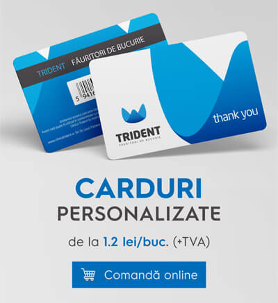 Carduri din PVC personalizate